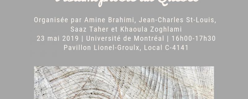 Table-ronde. Formes et enjeux du racisme et de l'islamophobie au Québec